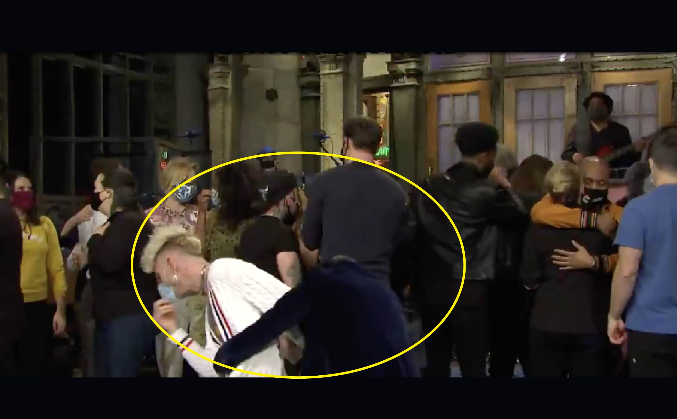 [VIDEO] SNL Finally Funny Again When Two Liberal Stars Accidentally Fall Off The Stage