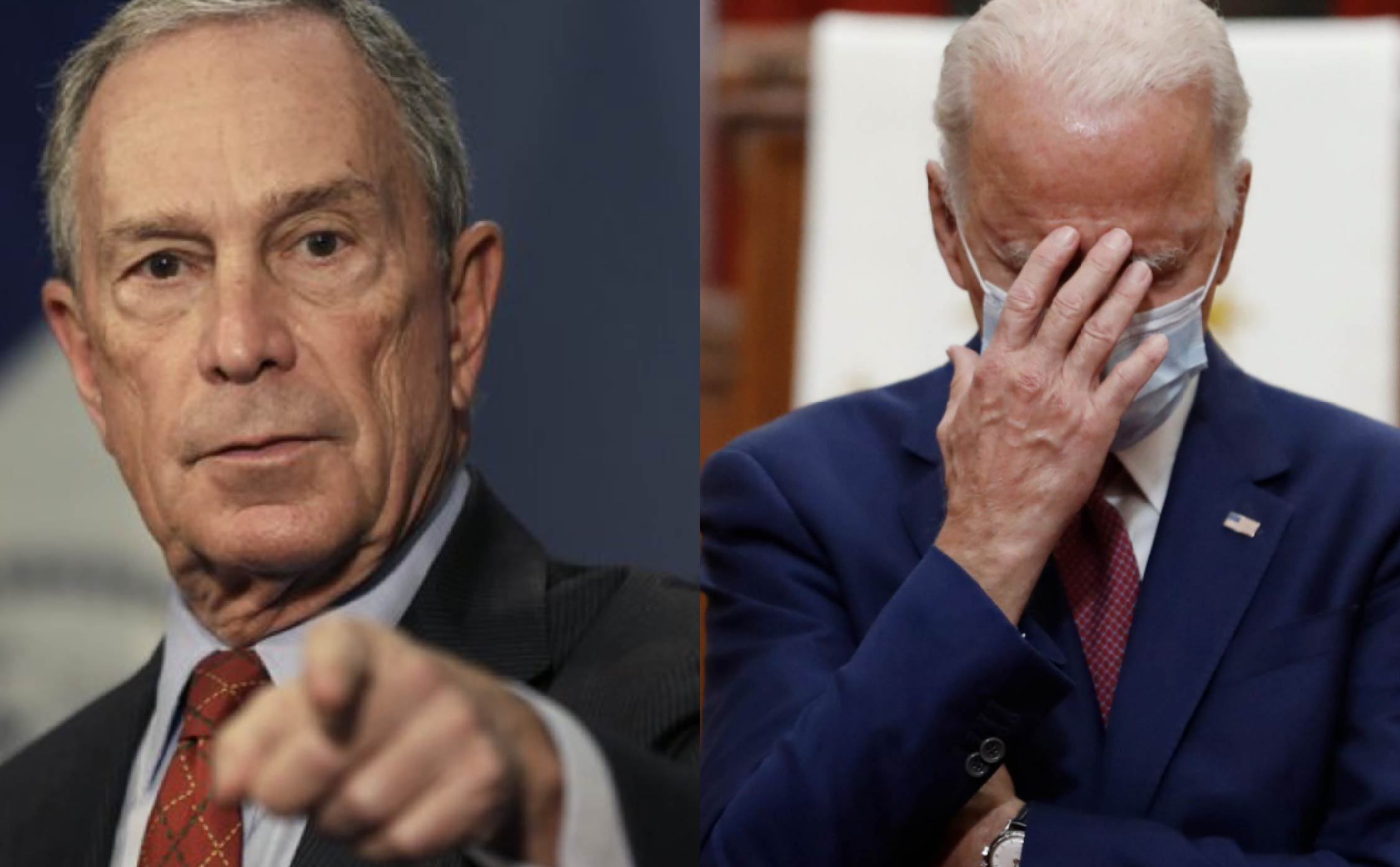 [VIDEO] Uh Oh, Now Mike Bloomberg is Going After Joe Biden