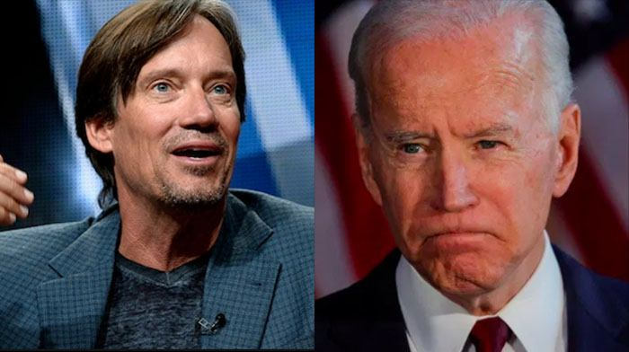 Conservative Actor Kevin Sorbo Has a Damning Picture and a Serious Question for All Biden Voters