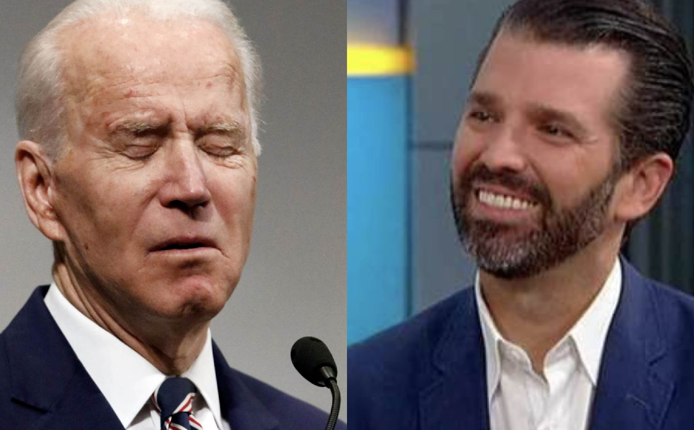 """Don Jr. Triggers Every Leftist in USA By Sharing Harmless """"Video Meme"""" Mocking Joe's Fall"""