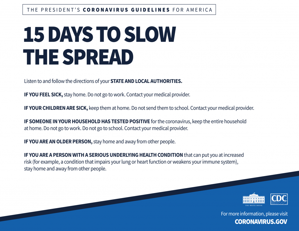 How '15 Days to Slow the Spread' Became a Year