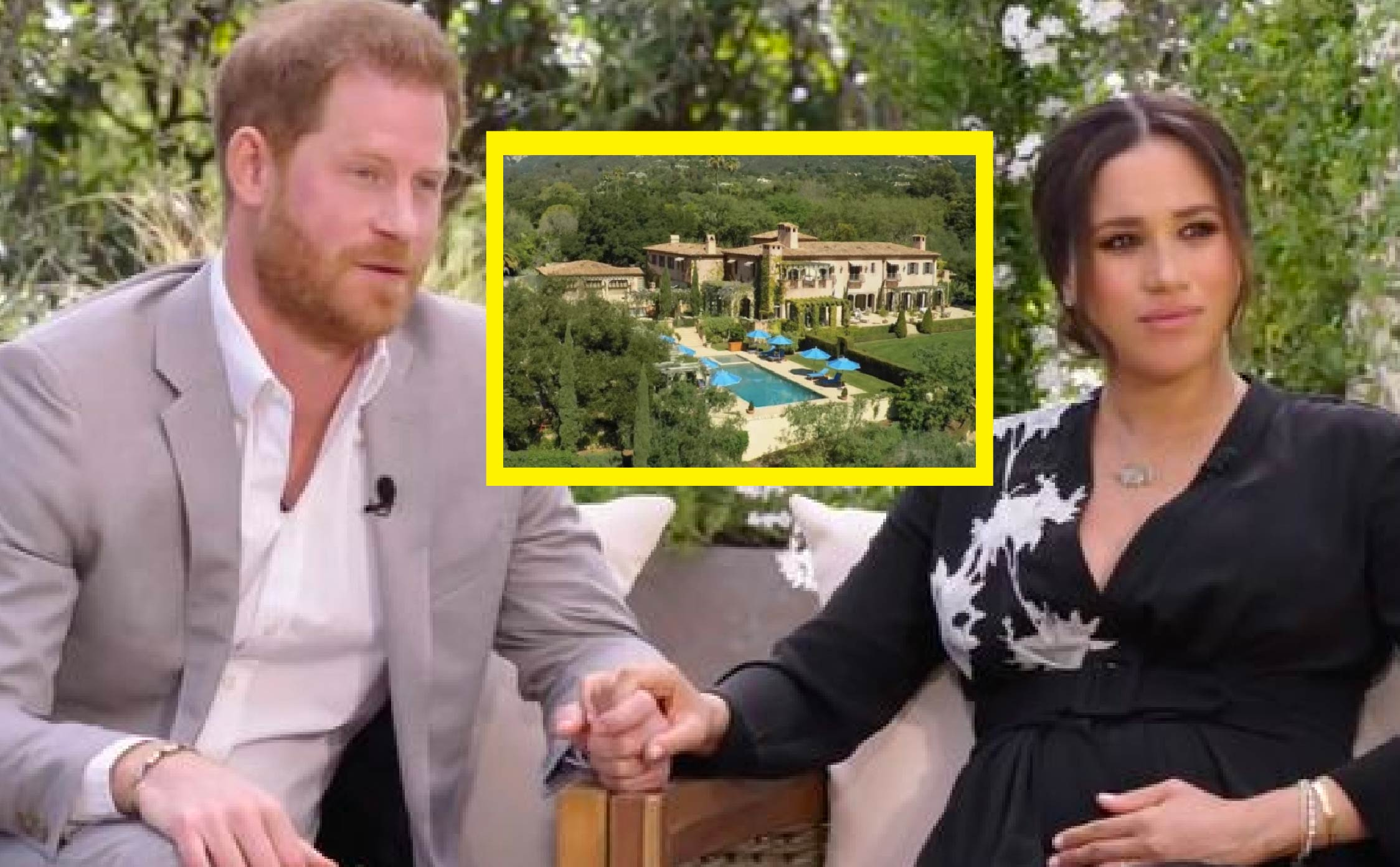 """Jaws Hit The Floor Over Pics of """"Poor Victims"""" Meghan And Harry's Sprawling New Mansion"""