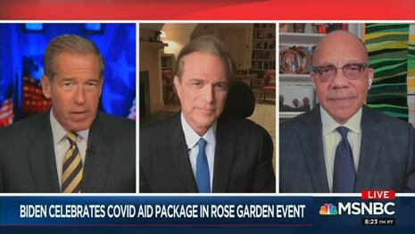 MSNBC Compares Biden to FDR and LBJ, Claims Democracy Will Be At Risk If Biden Fails