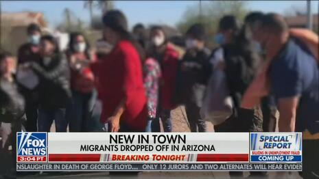 Nets Cover-Up Biden Dumping Illegals in U.S. Town, Kamala Laughing at Crisis