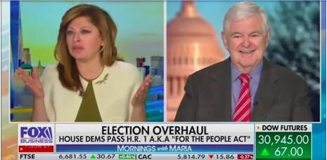 Newt Gingrich Says Twitter Censored Him for Tweet on COVID, Illegal Immigration