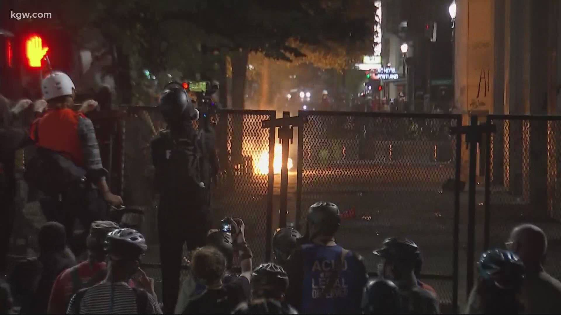 OP-ED: Why Am I Just Hearing Antifa Set Fire To Portland Court Building With People Inside?