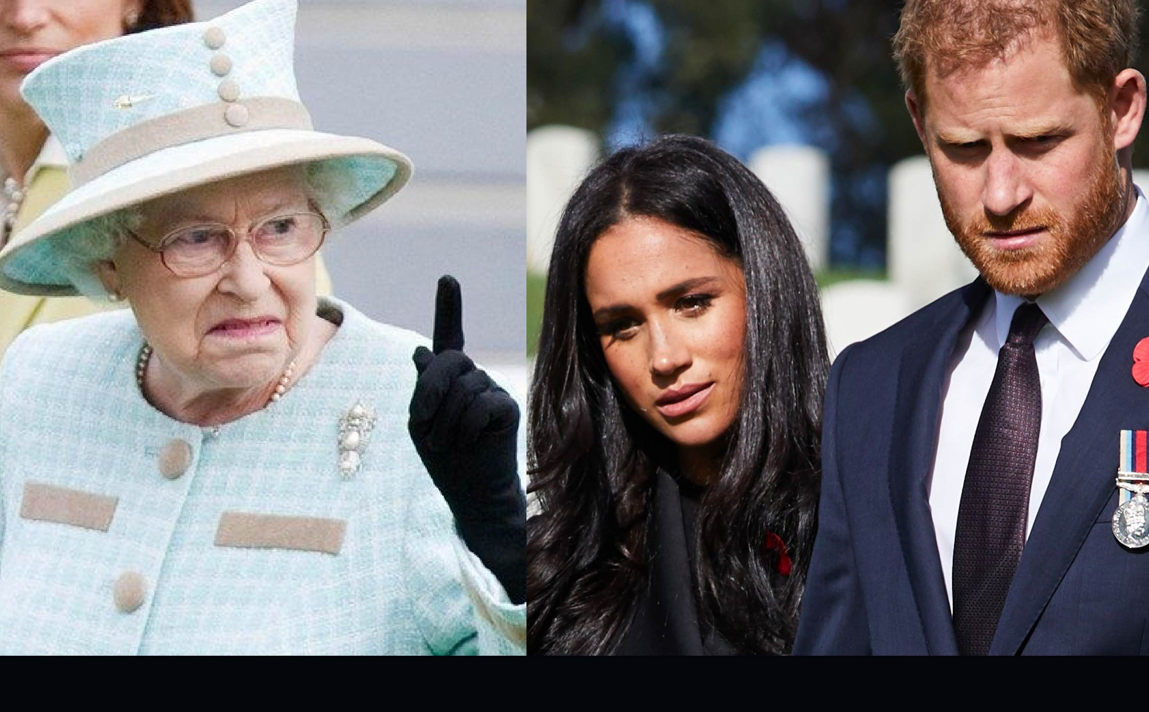 """Palace Insider Reveals the One Line in Queen's Statement Meant to """"Jab"""" Meghan and Harry"""