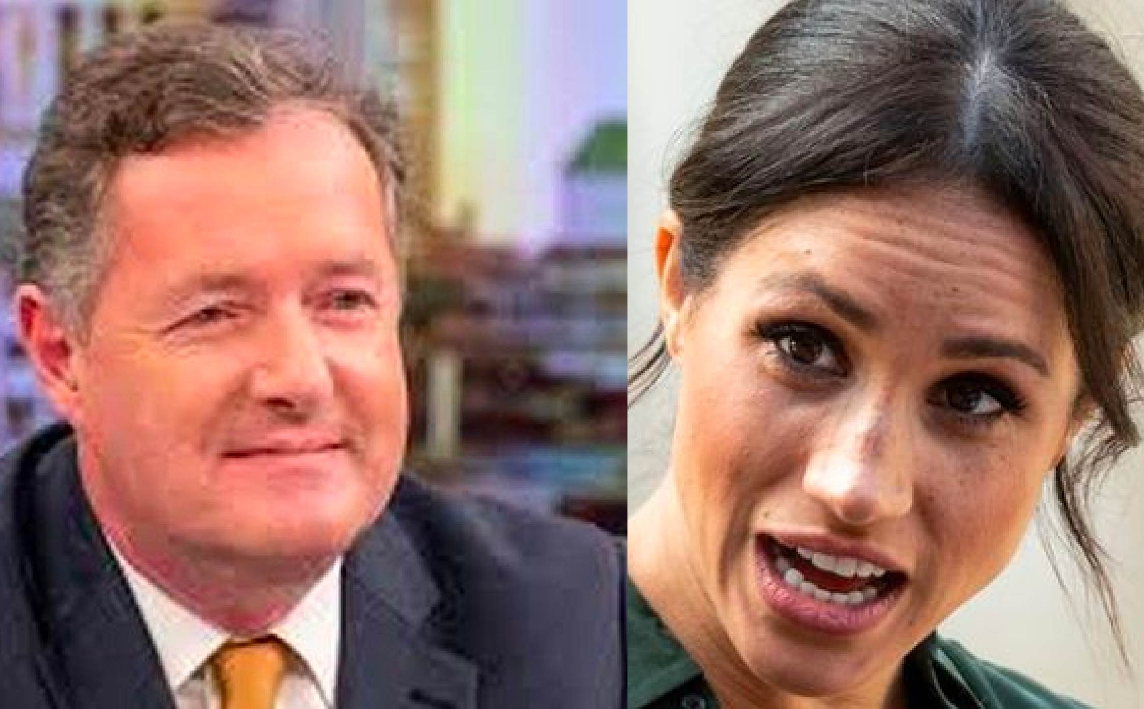 """Piers Morgan Enjoys an """"I Told You So"""" Moment After Meghan and Harry Get Skewered Again"""