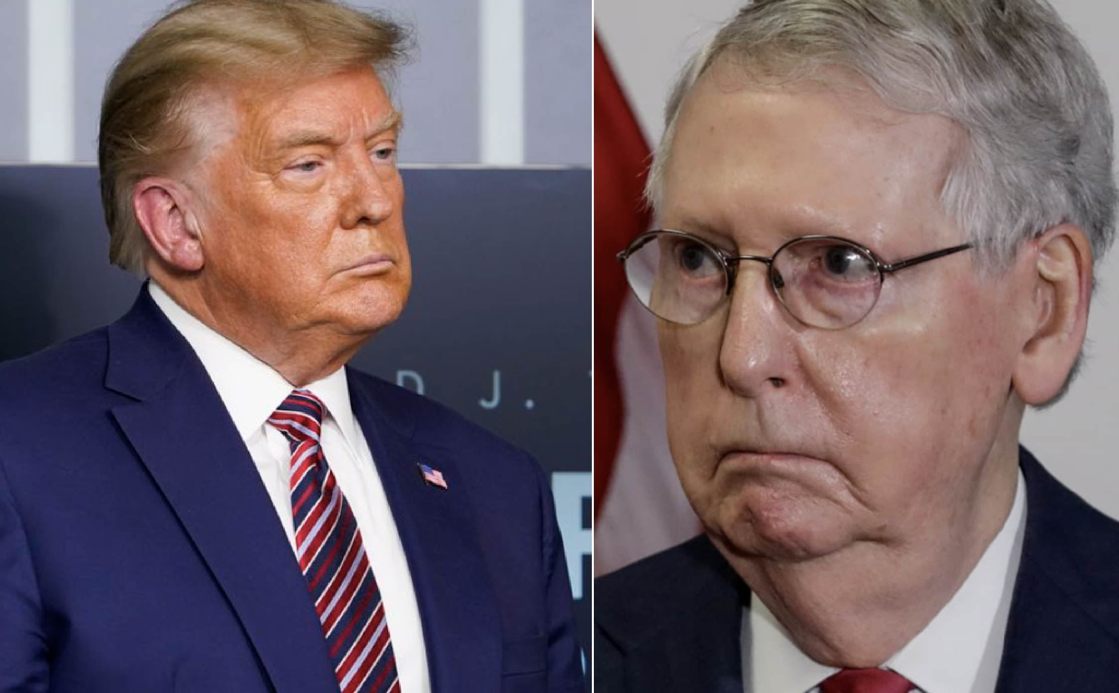 President Trump Just Delivered His Most Crushing Blow Yet to Poor Ol' Mitch
