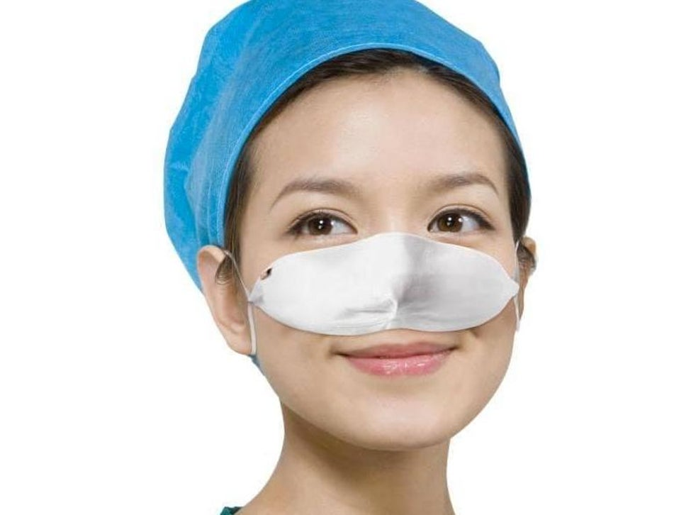 Researchers In Mexico Have An Idea To Reduce COVID-19 Infection While People Eat: Nose Masks