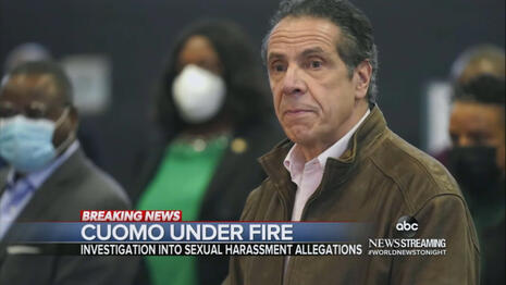 STUDY: TV Smothers Cuomo Nursing Home Deaths With Harassment Charges