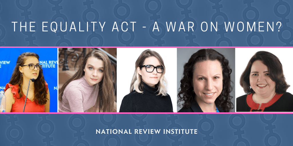The Equality Act: A War on Women -- Get Educated on Thursday (And Pass This On)
