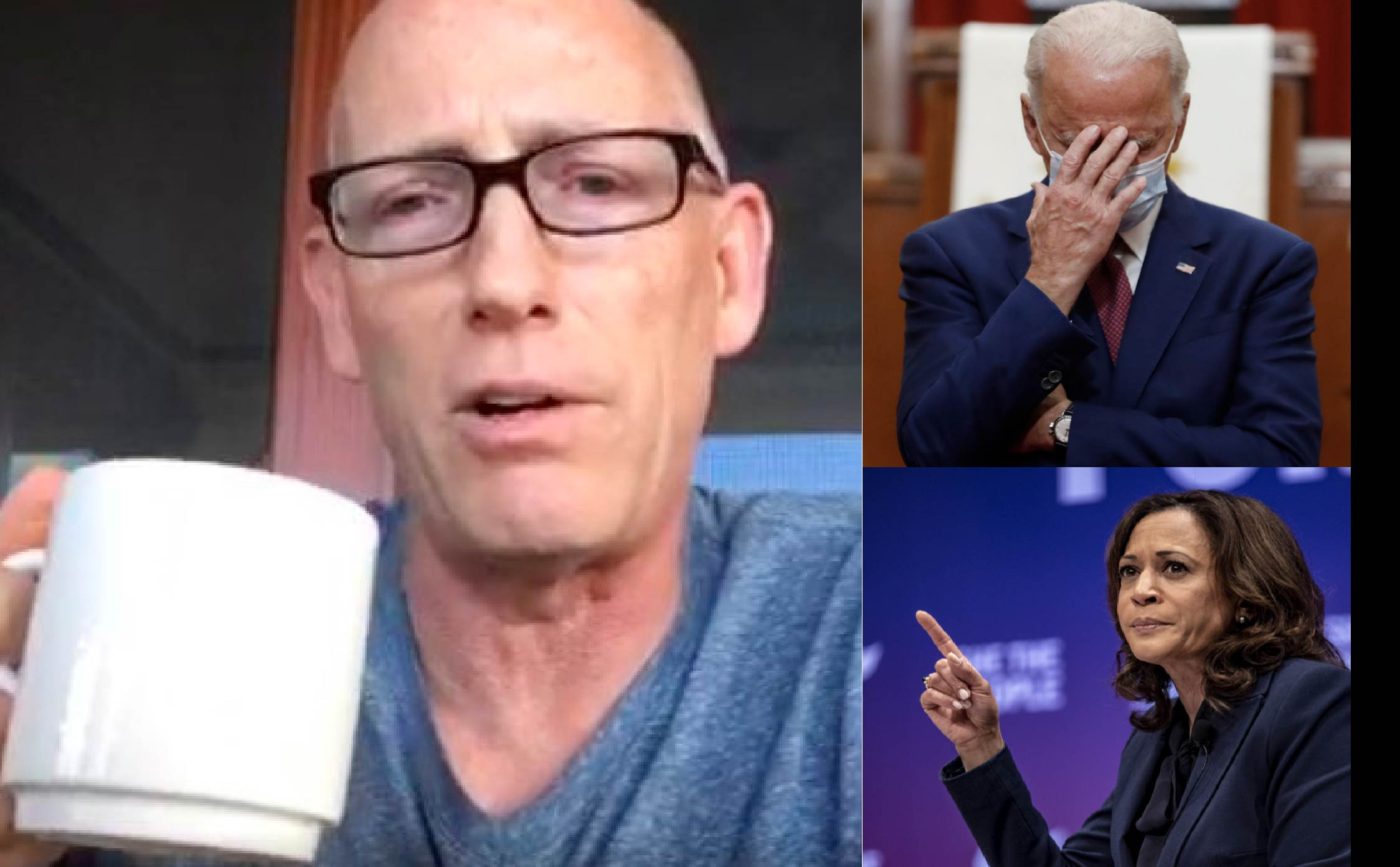 Trump Supporter Scott Adams Just Explained in One short Tweet Why Trump's a Shoo-In For 2024