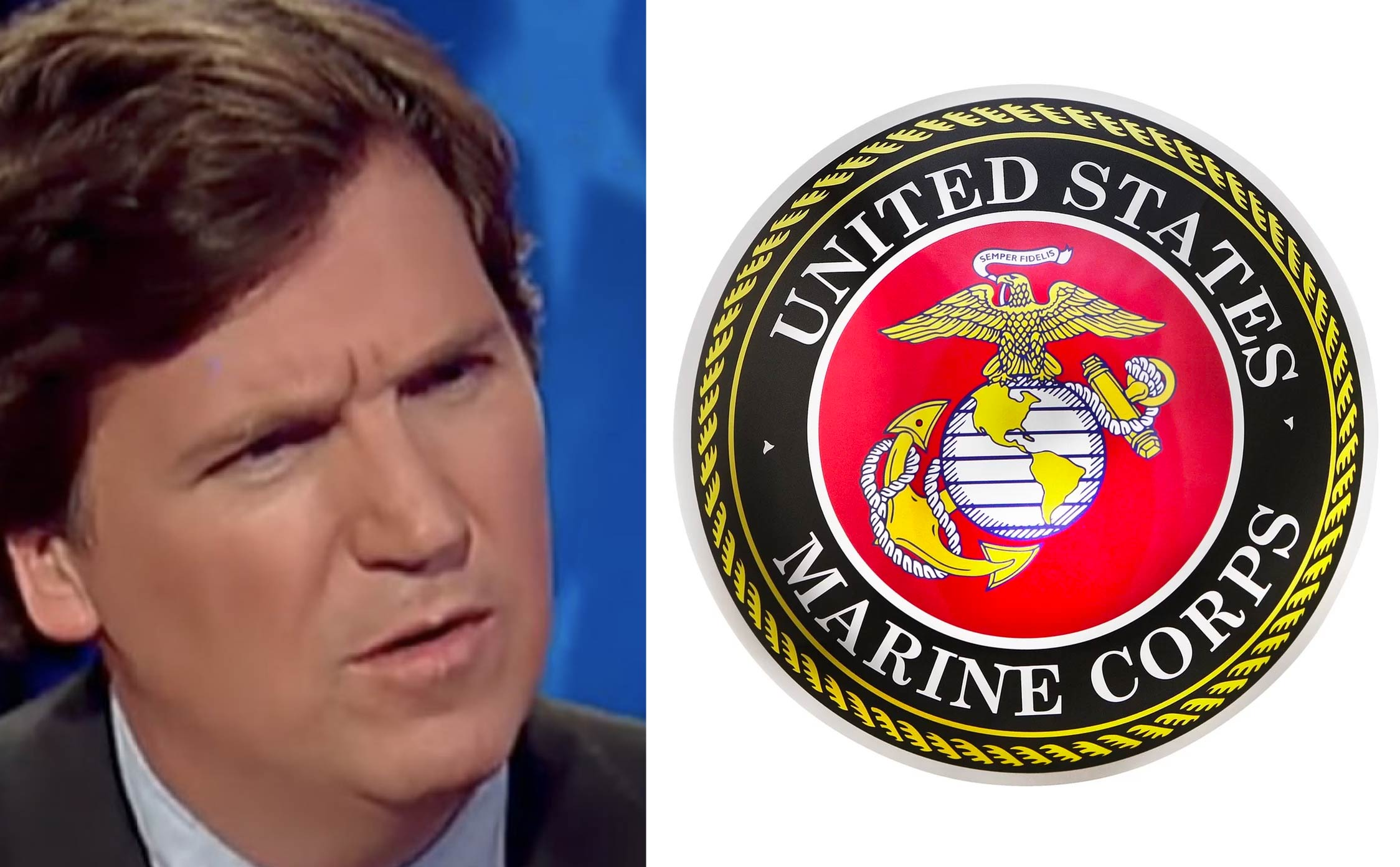 US Marine Corps Official Twitter Account Forced to Issue 2 Apologies After Attacking Tucker