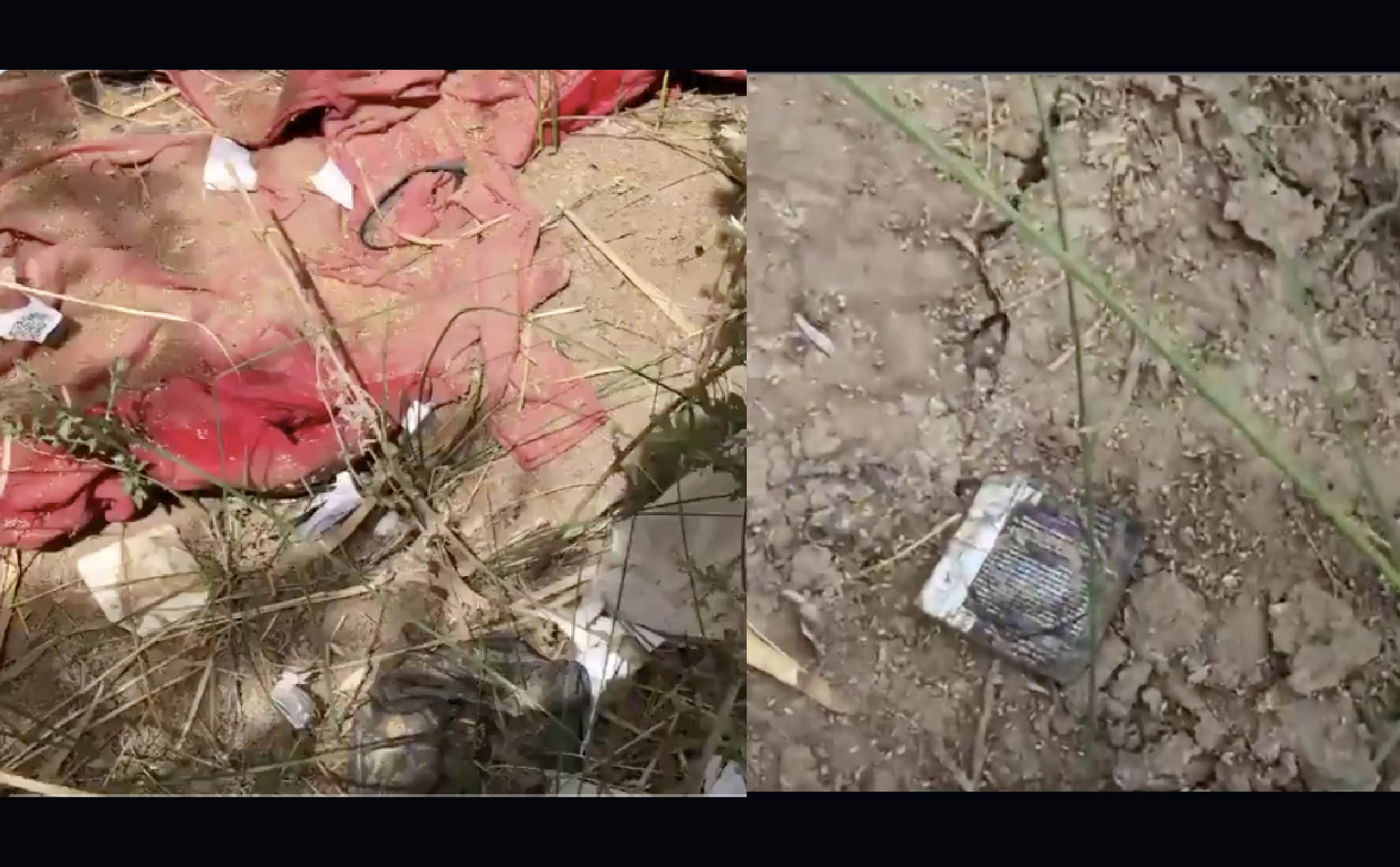 [VIDEO] Journo Finds Ground Littered With Condoms, Kids Clothing, Lubrication at AZ Border