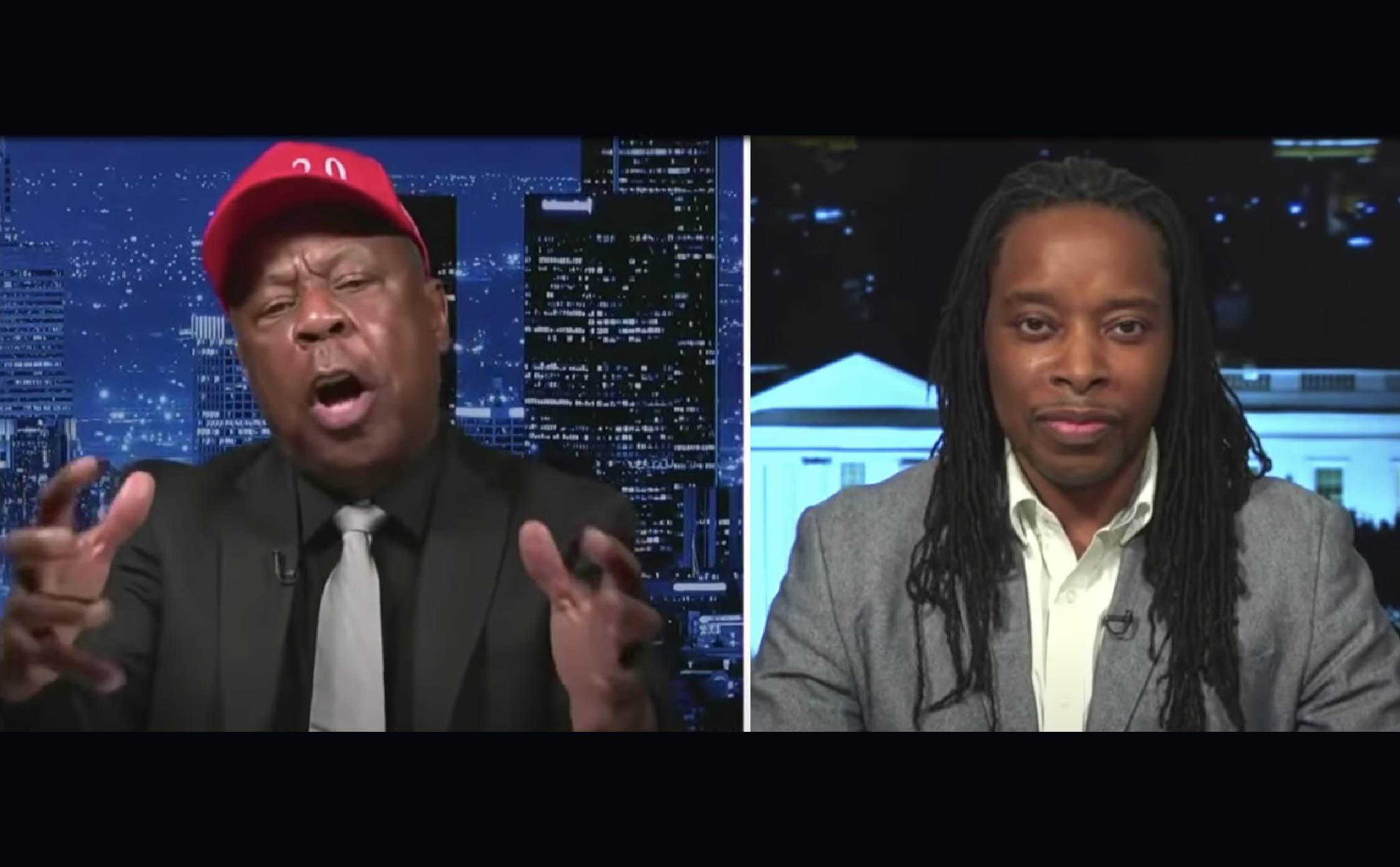 [VIDEO] Leo Terrell Leaves Smug, Crackpot Liberal Professor Tongue-Tied During Fiery Debate