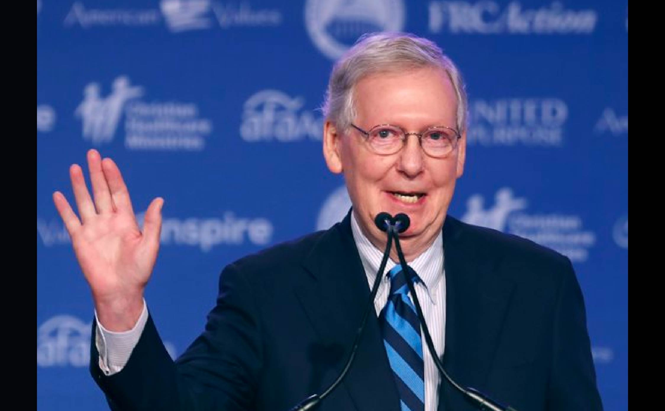 [VIDEO] Looks Like Mitch McConnell is Tossing in The Towel...Bye!