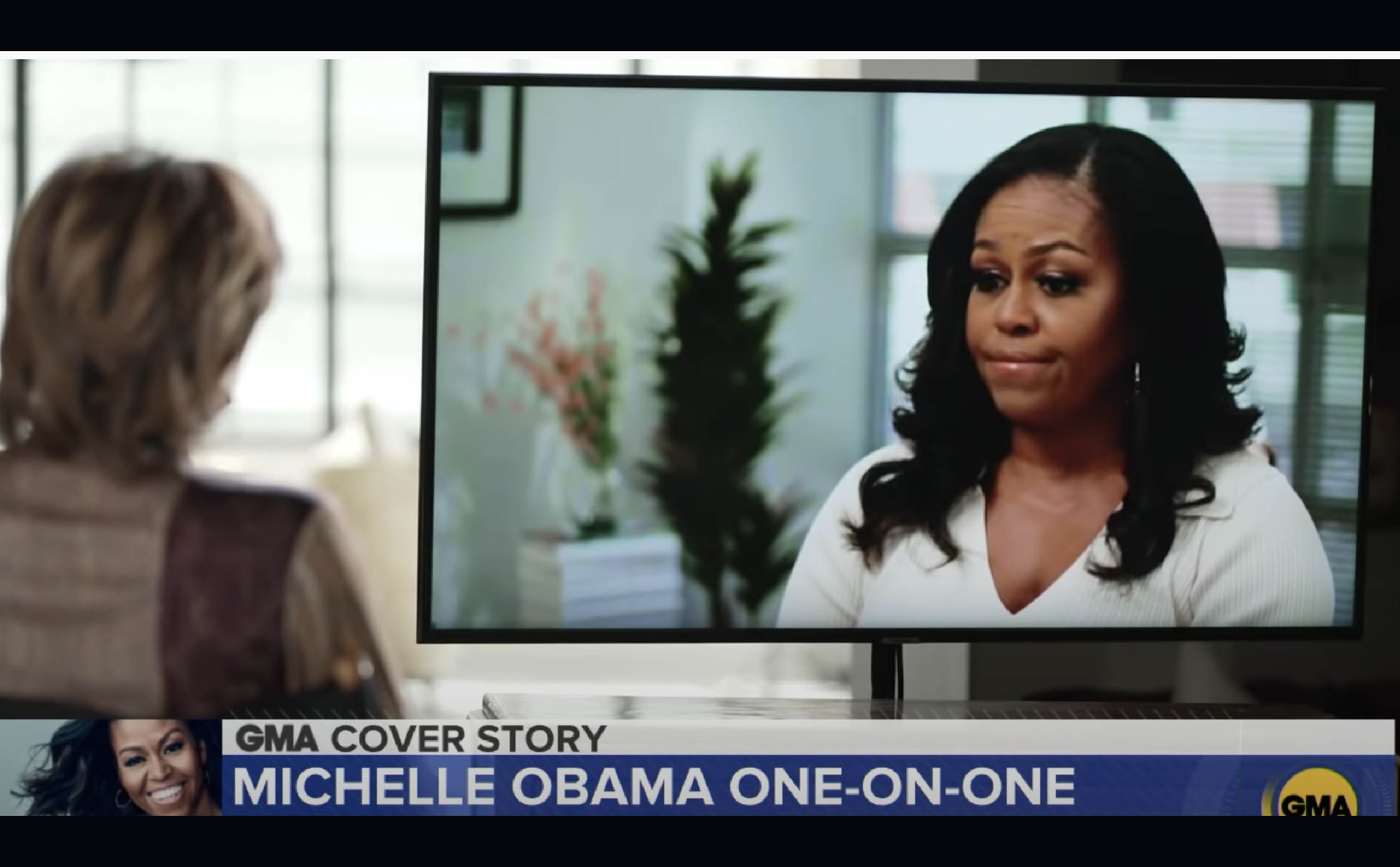 """[VIDEO] Michelle Obama Up to Her Same Nasty Tricks Again on """"Good Morning America"""""""