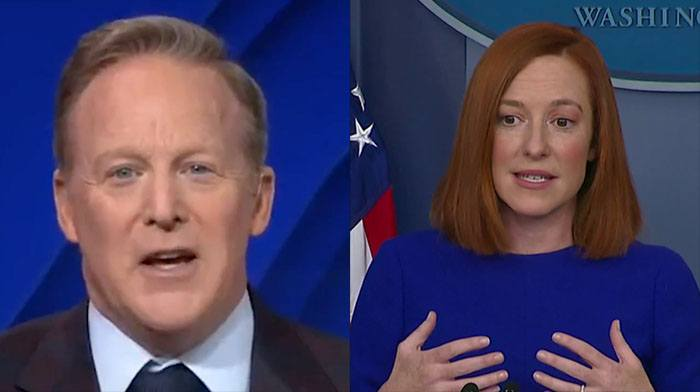 [VIDEO] Sean Spicer is Back and He's Mopping Up the Floor With Poor Jen Psaki