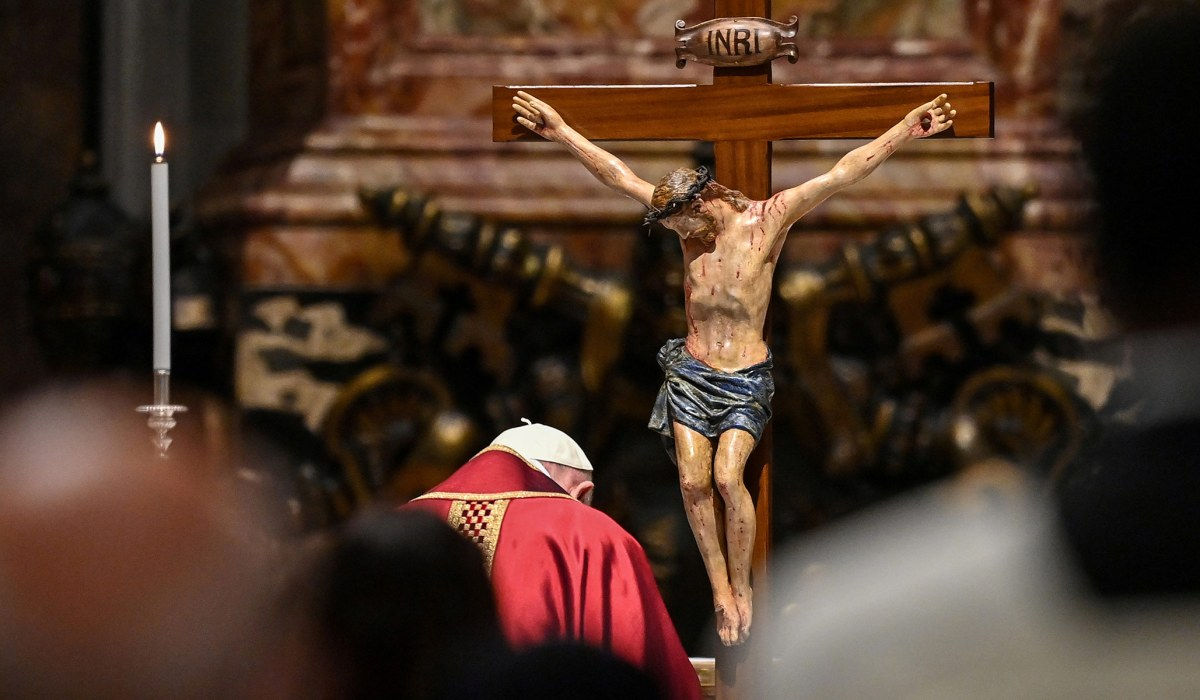 A Minor Grace of the Cross and Easter