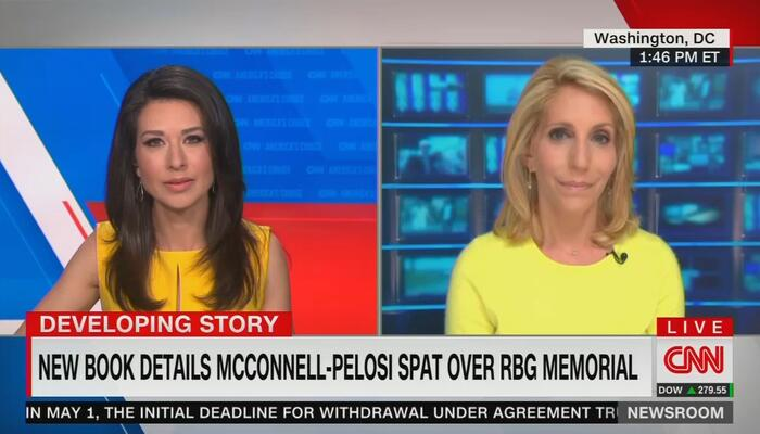 Absurd CNN Falsely Claims 'Icon' Ginsburg Was 'Not Political' on Supreme Court