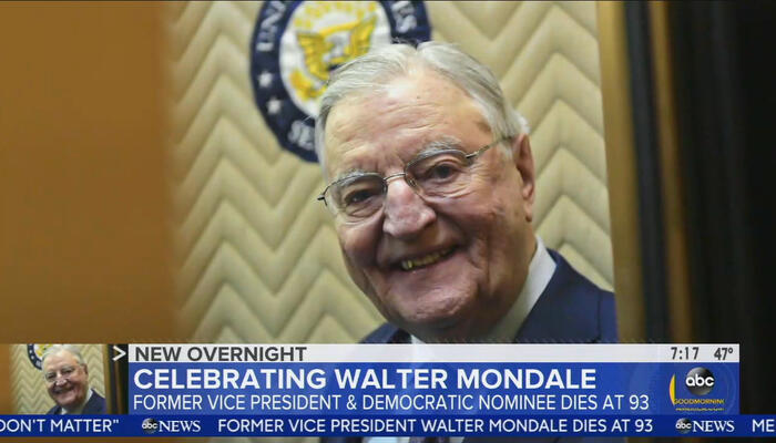 CBS: Mondale 'Won the Argument' With Reagan Over Government