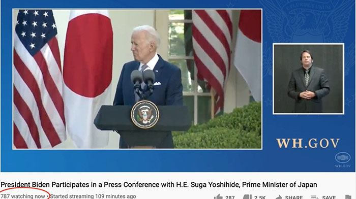"""Did The WH YouTube Channel Just Reveal the """"Truth"""" about Joe During Japan PM Visit?"""