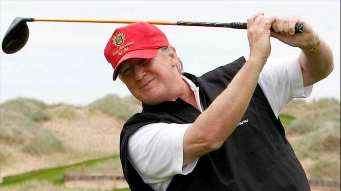 Did Trump Go Golfing With his 2024 Running Mate  Today?