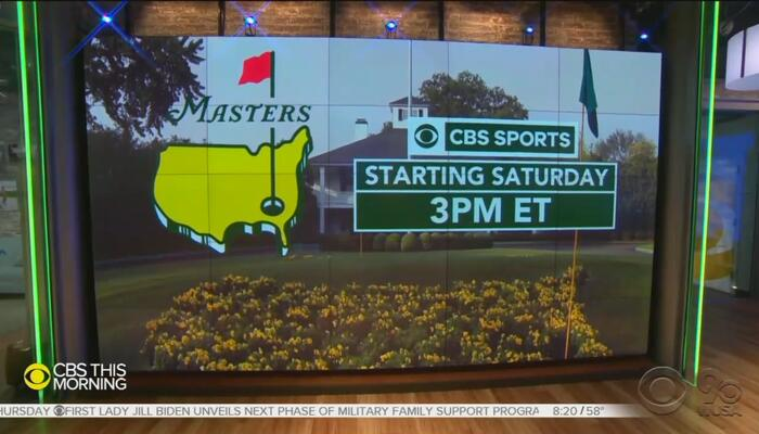 Is CBS... Racist? Network Touted GA Boycott, Now Pushing Masters Tournament on CBS