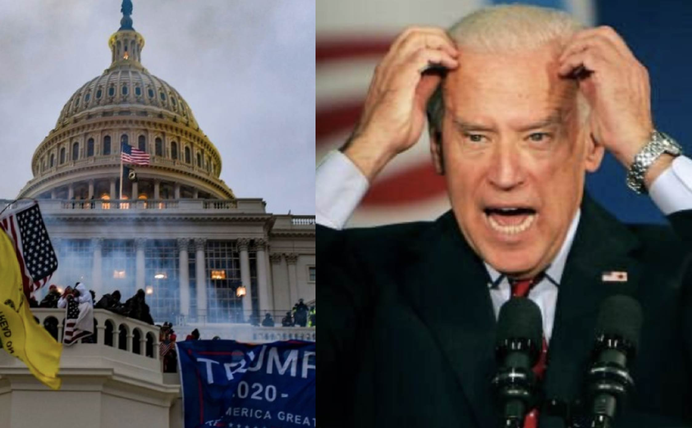"""Joe Biden Just Got Some Very Bad News About His So-Called Jan 6th """"Insurrection"""""""