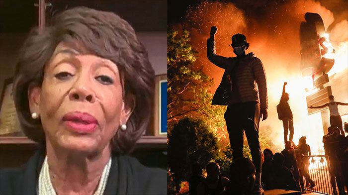 """Maxine Waters Was Just Busted in Yet Another """"Minneapolis Riot Scandal"""""""