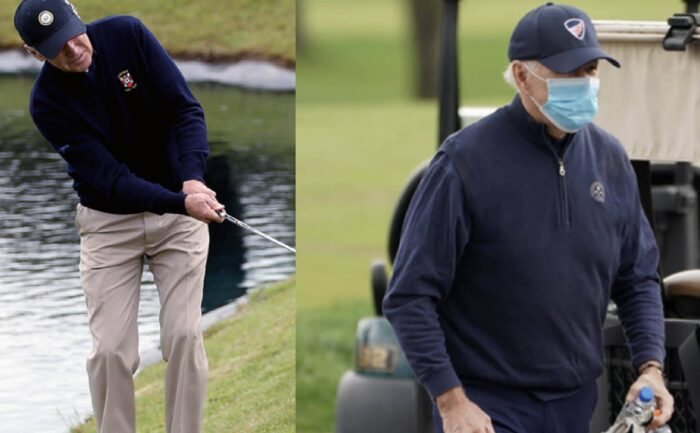 "Media Did it Again....More ""Trickery"" Involving Joe Biden, This Time About Today's ""Golf Game"""