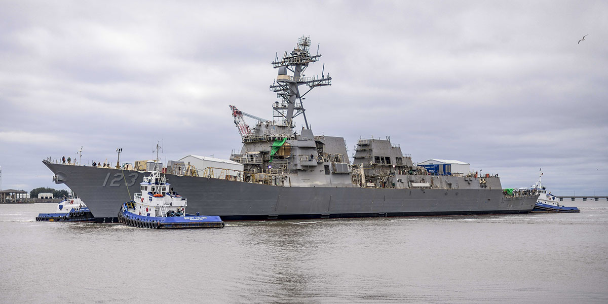Navy to Christen Guided-Missile Destroyer Lenah Sutcliffe Higbee