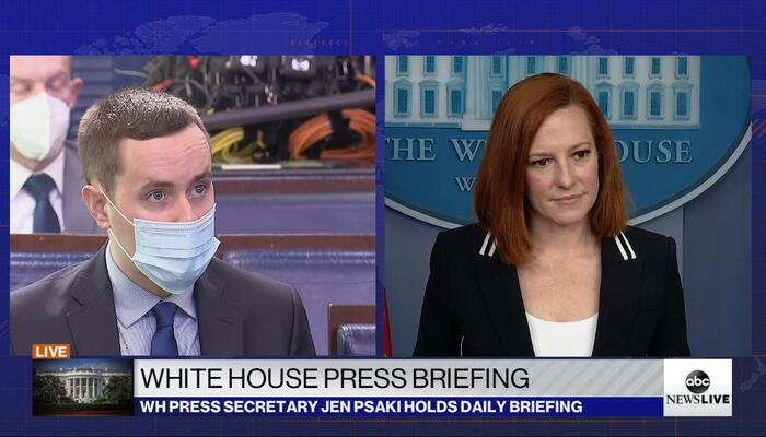 New York Post's Nelson to Psaki: Isn't Biden Culpable in Creating 'Systemic Racism?'