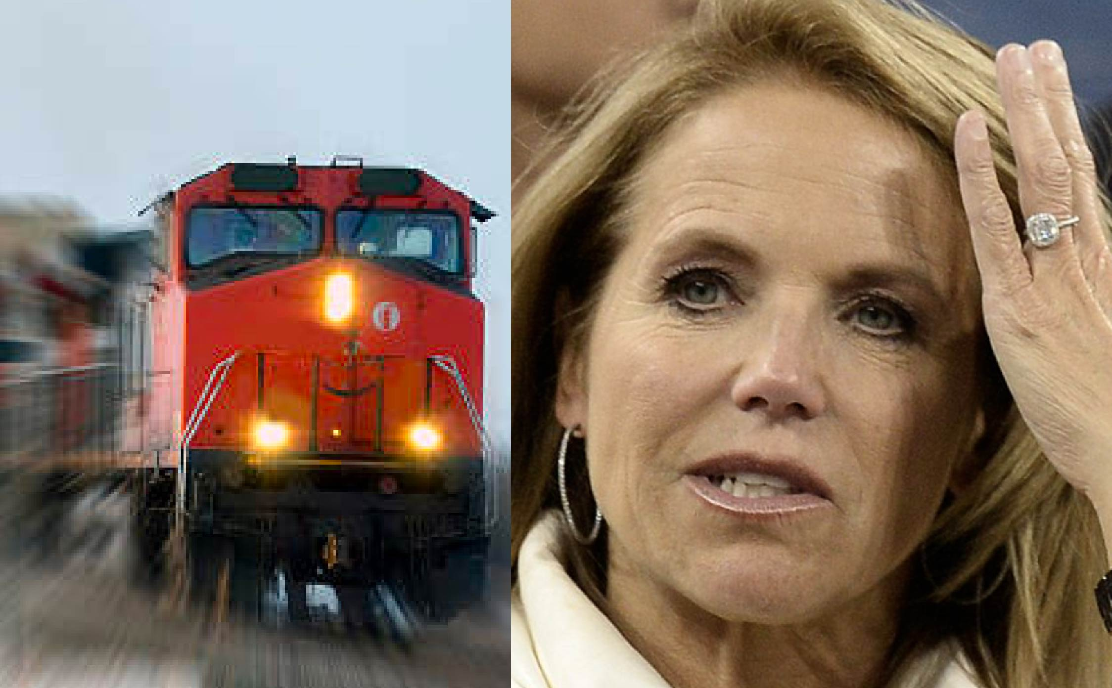 The Karma Train Just Steamrolled Trump-Hater Katie Couric