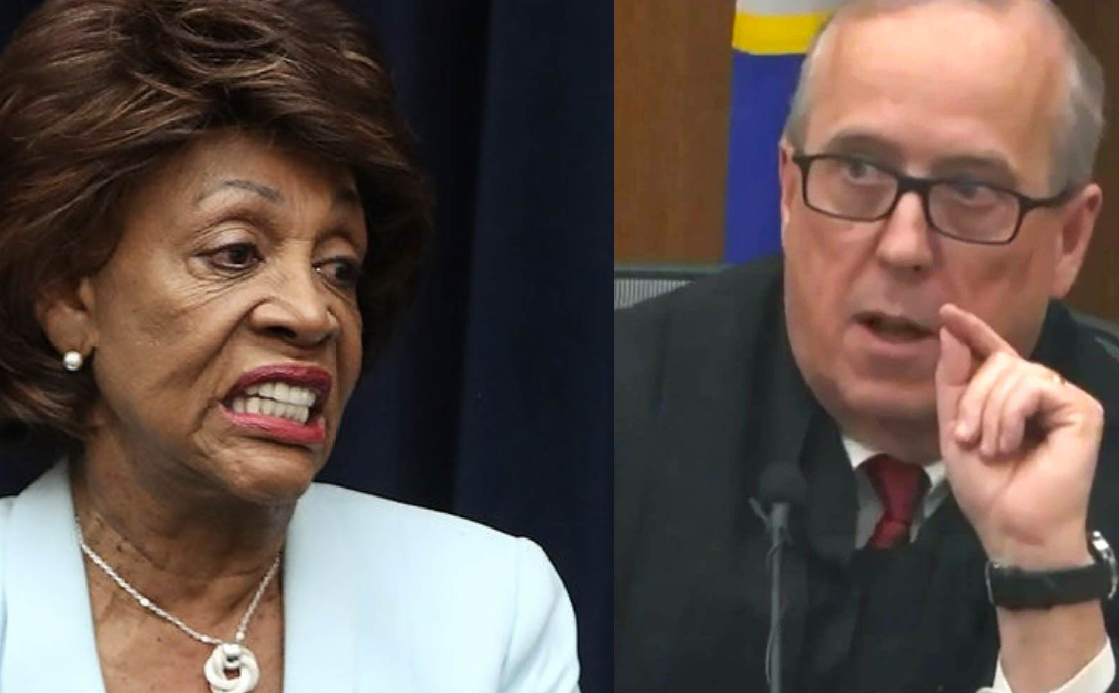 """[VIDEO] After What """"George Floyd"""" Judge Just Said About Maxine Waters...She Must Be Expelled From Congress"""