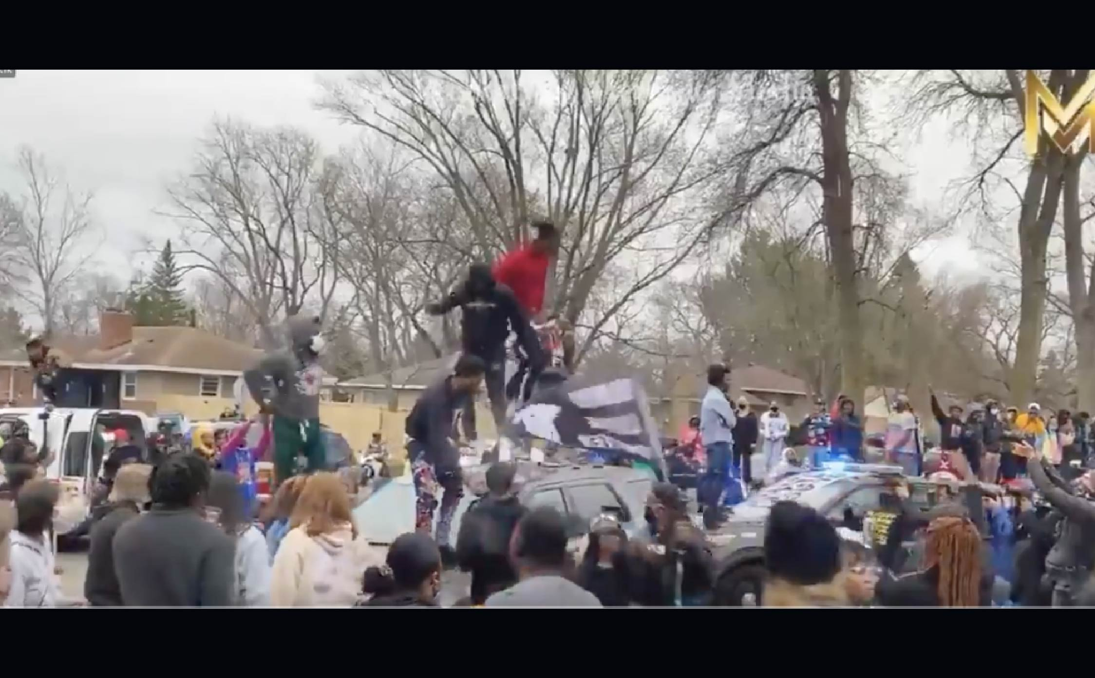 [VIDEO] BLM Protesters Go Wild In Minneapolis After Cops Just Shot Another Black Man