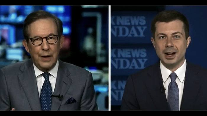 """[VIDEO] Chris Wallace Makes Minced Meat Out of Mayor Pete...Finally Has to Admit He """"Mislead"""" Americans"""