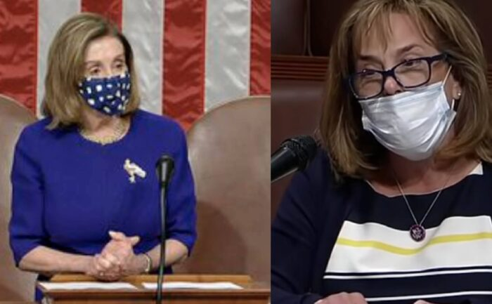 [VIDEO] Freshman Rep Lisa McCalin Absolutely Torches Pelosi on House Floor For Not Censuring Maxine Waters
