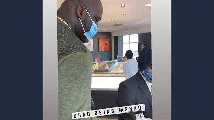 [VIDEO] Look What Shaq Did When He Saw Some Scruffy Guy Buying an Engagement Ring For His Girl