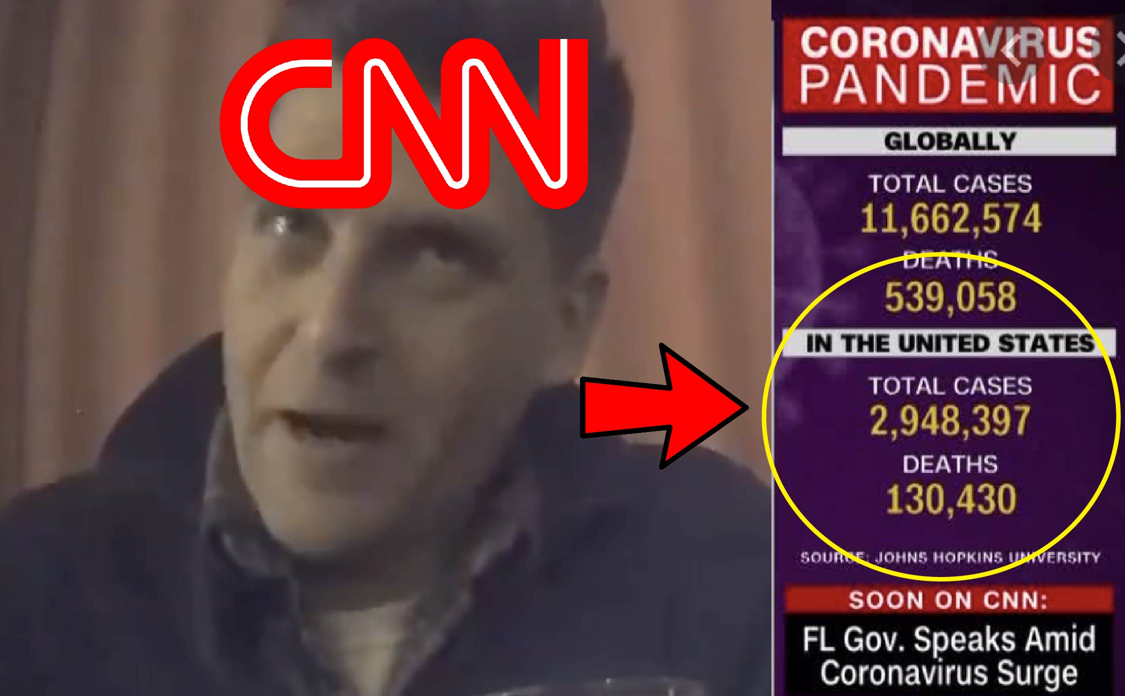 """Watch: CNN Director Reveals """"COVID Tricks"""" Network Uses to Scare People in Latest Undercover Video"""