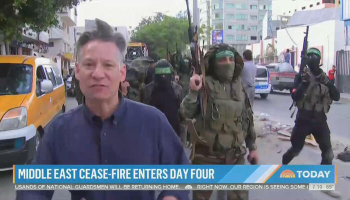 Marching With Hamas, NBC's Engel Touts Terrorist 'Wave of Popularity'