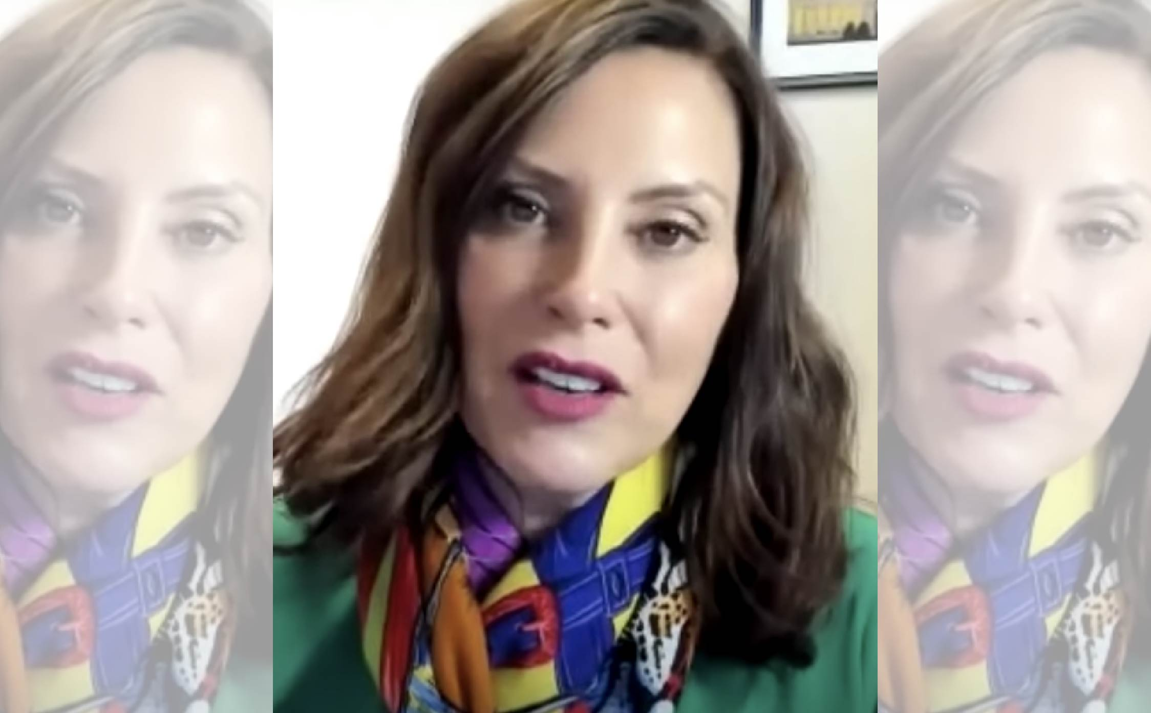 The Walls Are Not Just Caving-in on Gretchen Whitmer, They're Actually Crumbling...