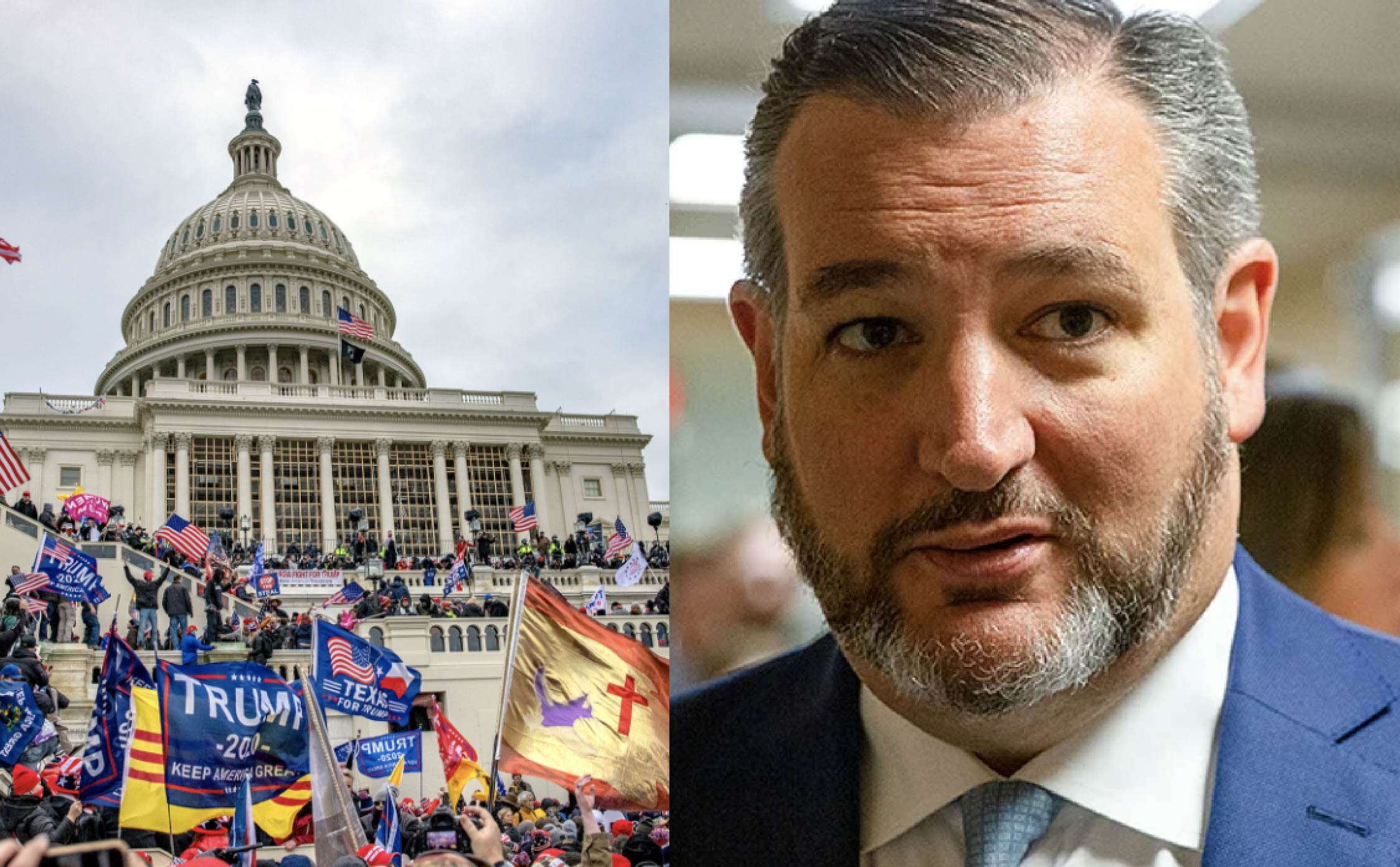 """Americans Love Ted's Support For Cubans But Wonder Why He Won't Speak Out For Jan 6th """"Politcal Prisoners"""""""