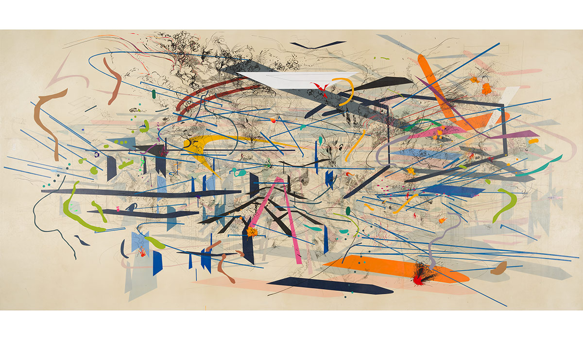 Art Review: Julie Mehretu Show at Whitney Museum