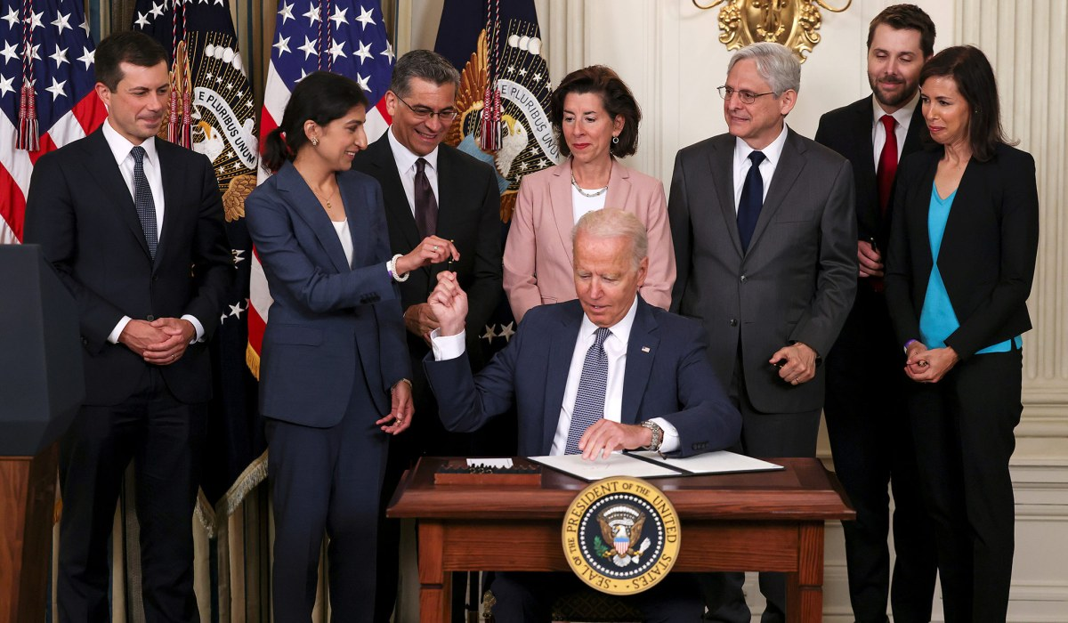 Biden Executive Order on Competition Approaches Rule by Decree