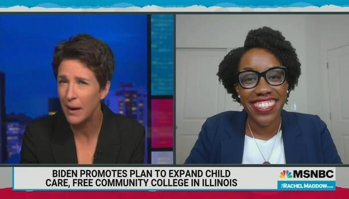 Gush Overload! Maddow Delights Over 'Perfect,' 'Talented' Dem: So 'Much Promise'