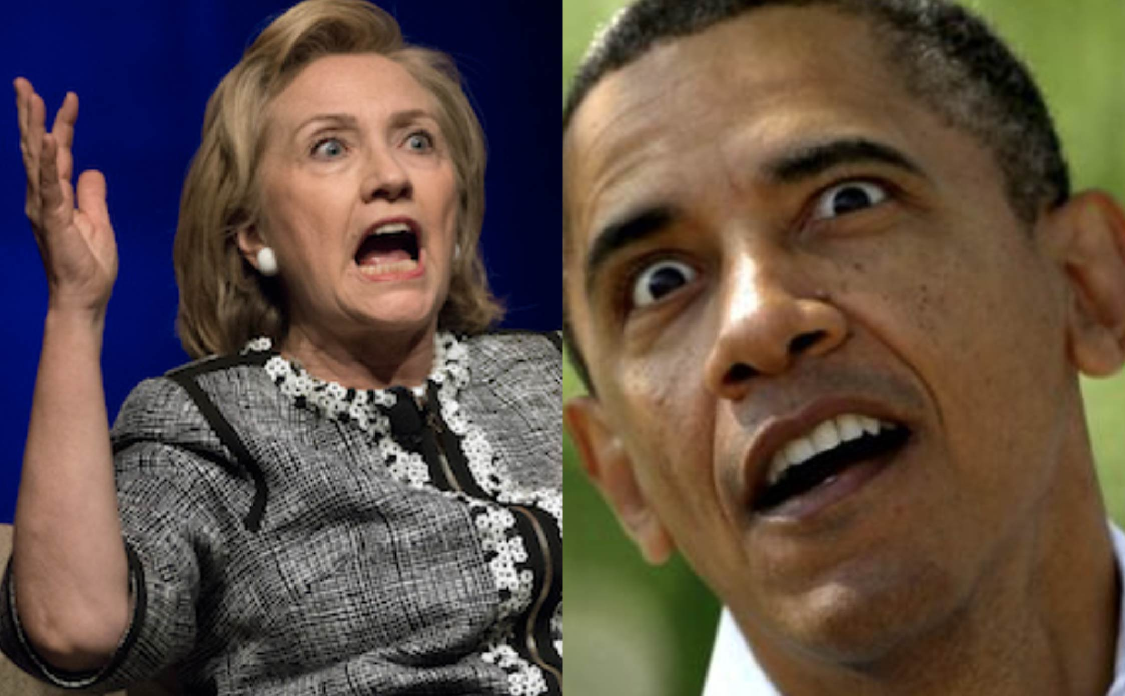 Hillary Clinton Just Turned as Frantic and Paranoid as Obama