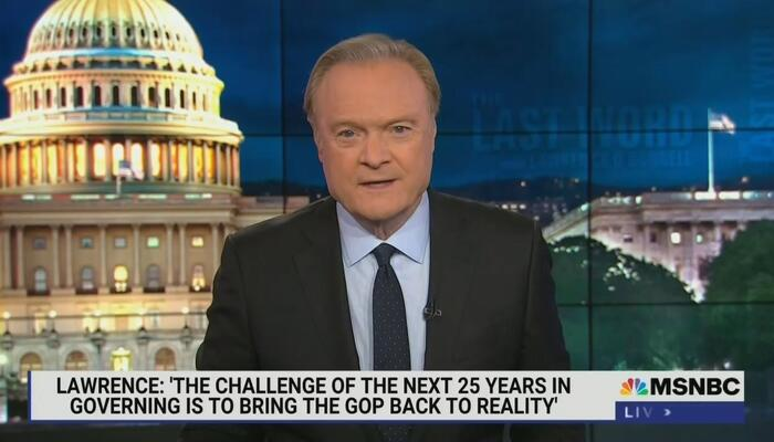 MSNBC Celebrates 25th Anniversary By Fantasizing: 16 More Years of Dem Rule!