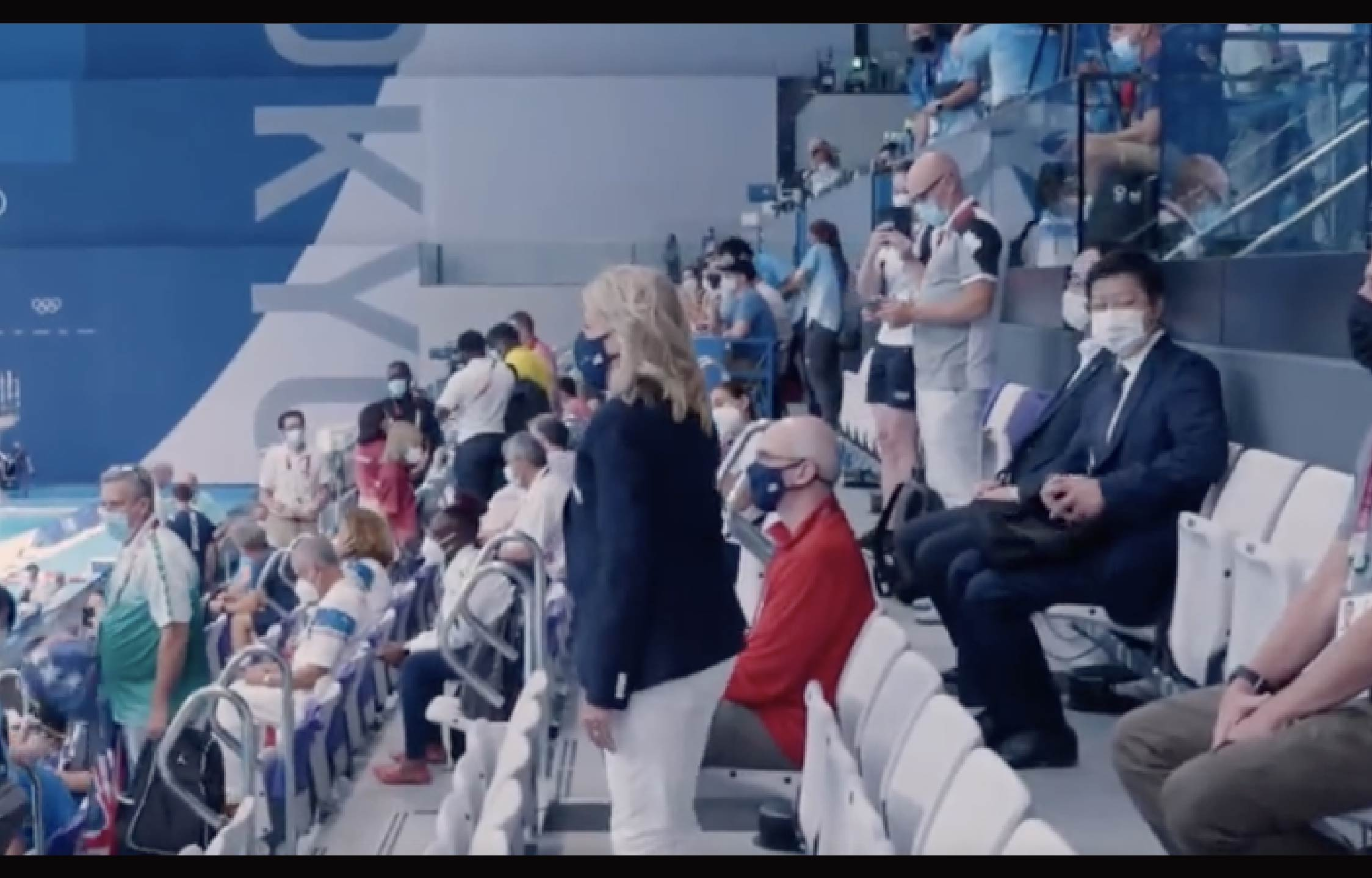 Many Americans Turned Off By US Swim Team's Reaction to Jill Biden...
